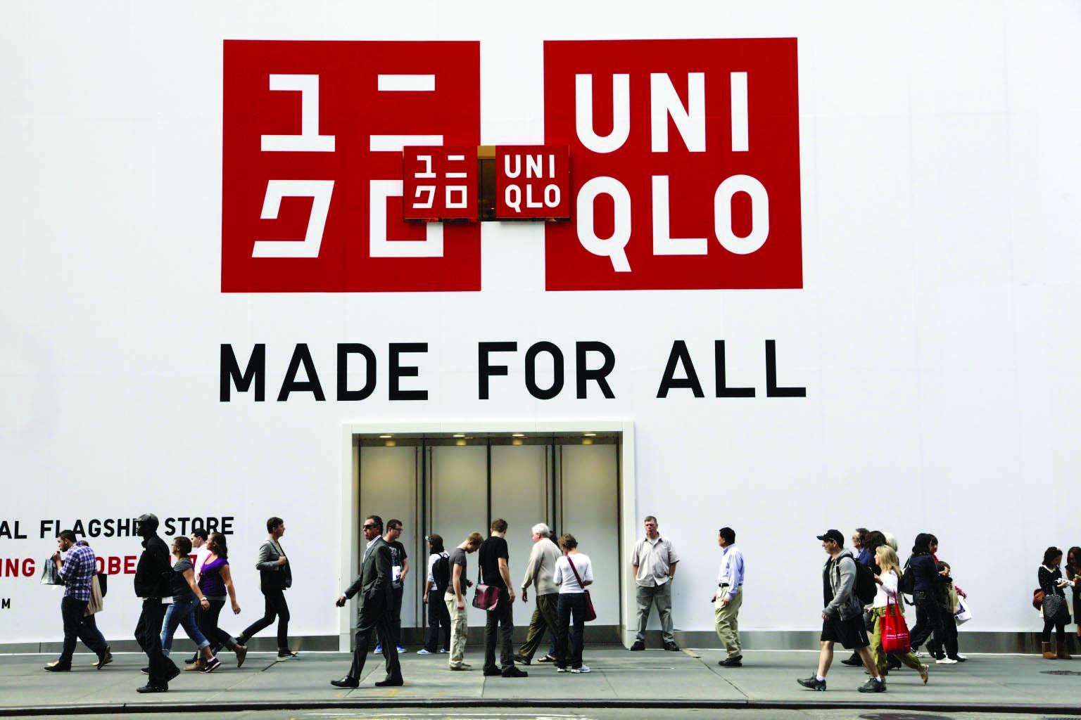 Uniqlo Store Opening