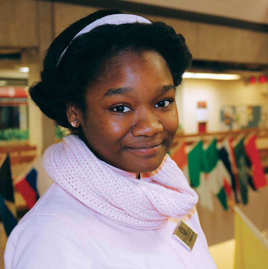 International student strives to help others