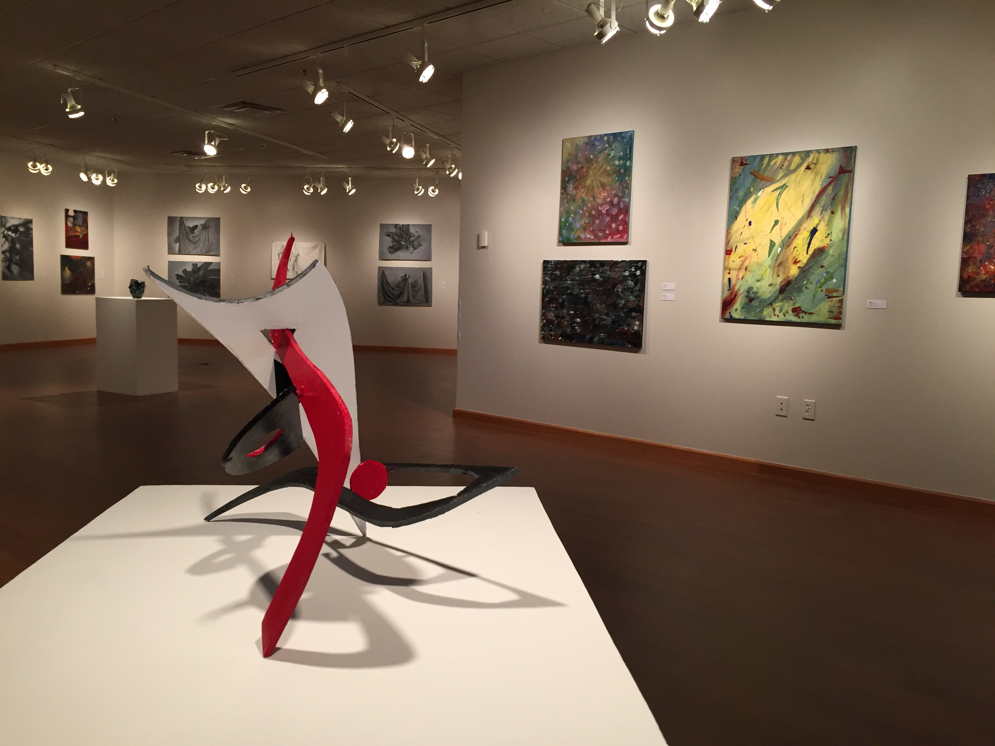 Exhibit showcases graduating students art