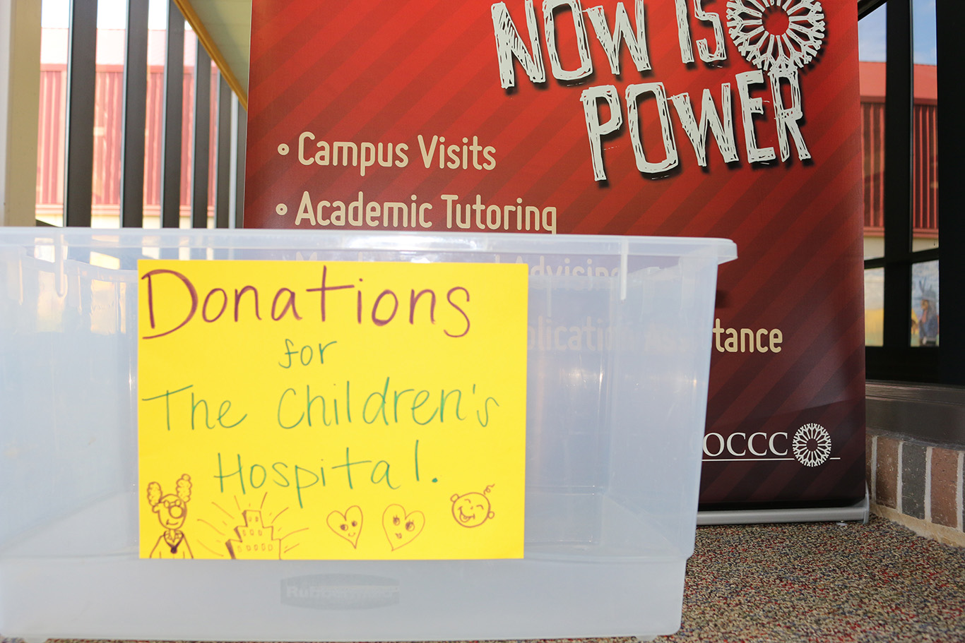 TRIO accepting toys, books and other items to donate to Children's Hospital