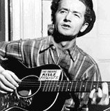WOODY GUTHRIE: Photo from Library of Congress
