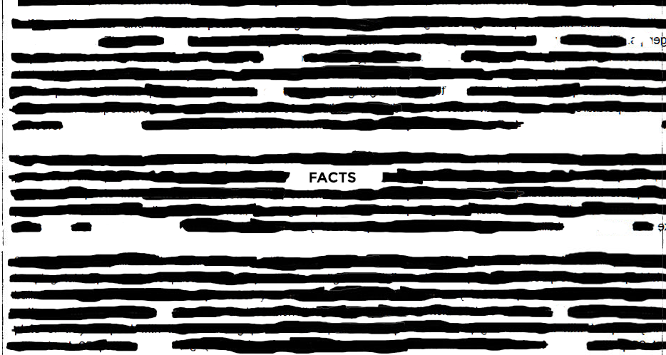 """FACTS: """"Alternative facts"""""""