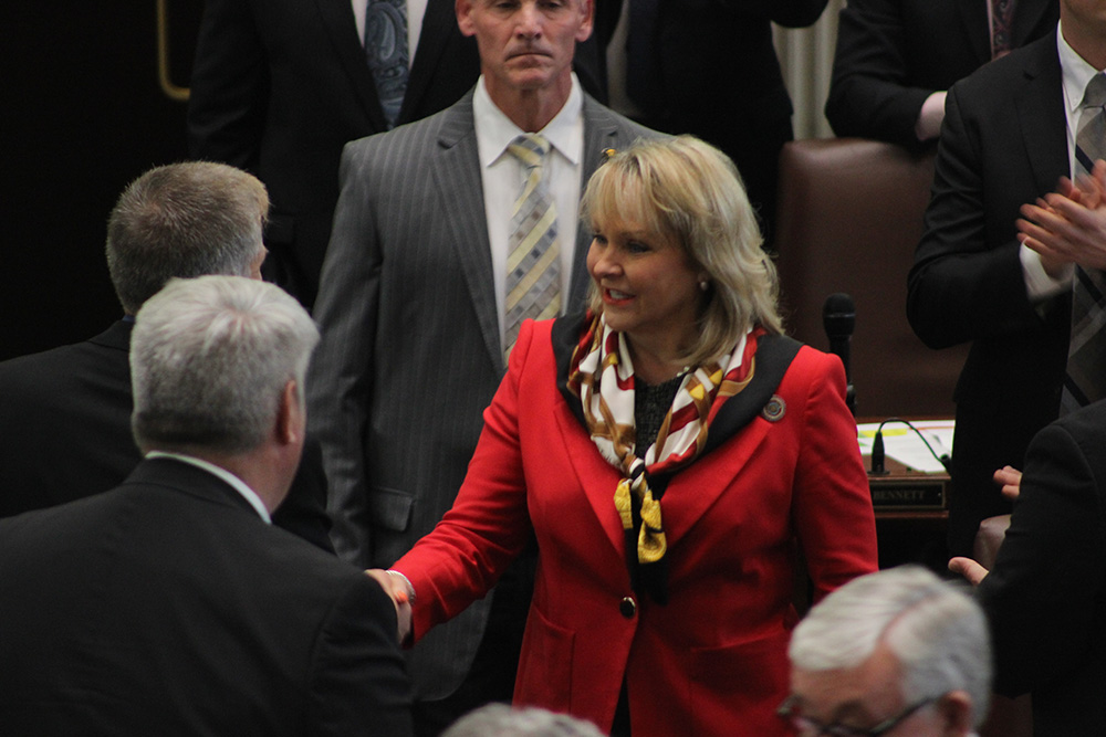 Governor Delivers Her Final State of the state Speech