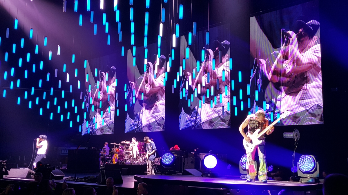 Red Hot Chili Peppers take Tulsa
