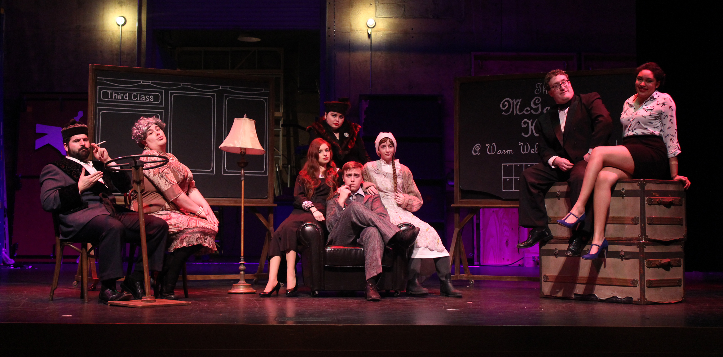 "OCCC Theatre Presents ""The 39 Steps"""