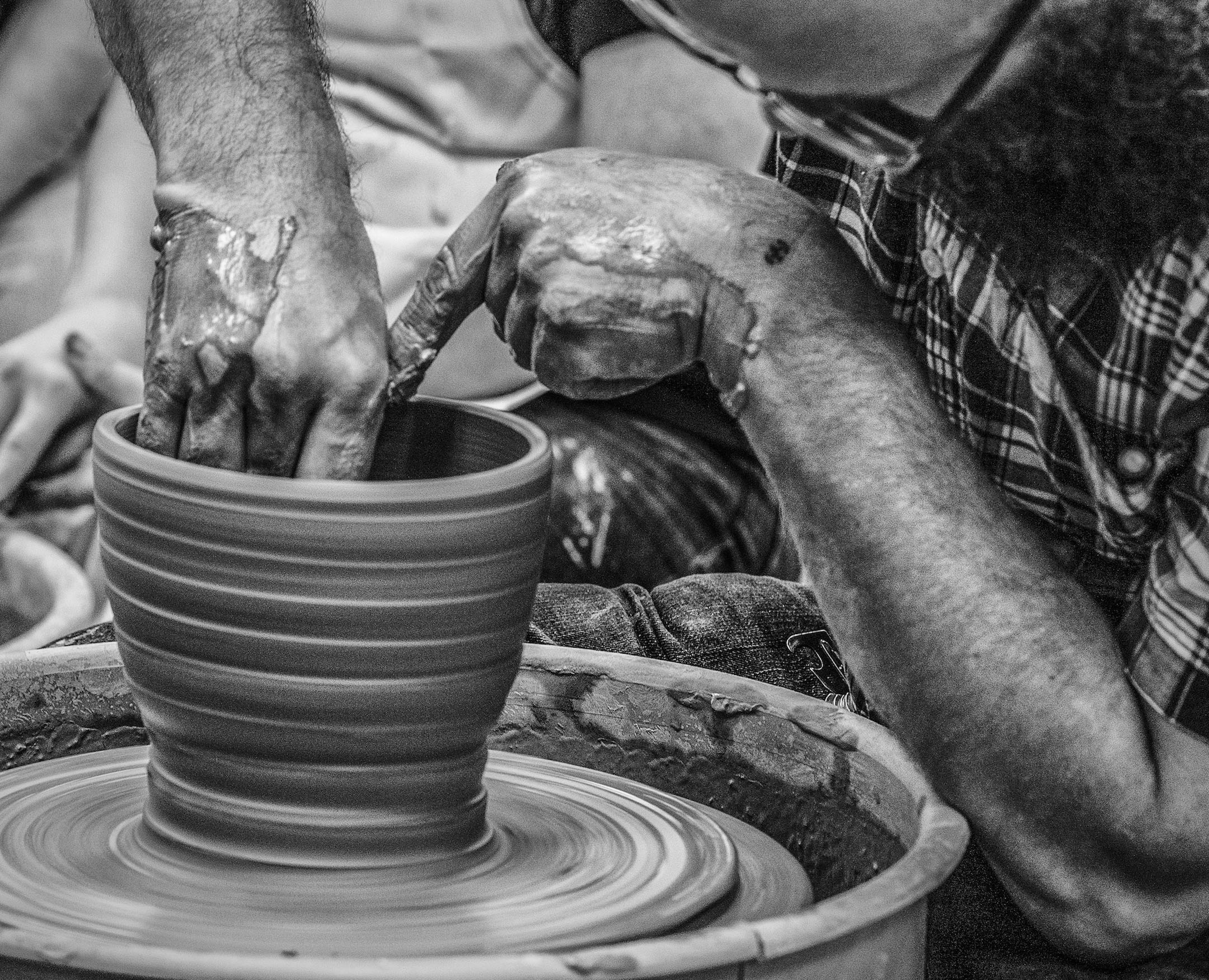 Pioneer Presents OCCC Pottery Photos