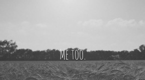 "The ""Me Too"" Campaign started to spread sexual harassment awareness. Photo from Lindsay Moore."