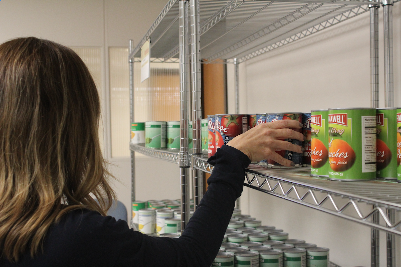 College Food Pantry Serves Hundreds, Needs Volunteers