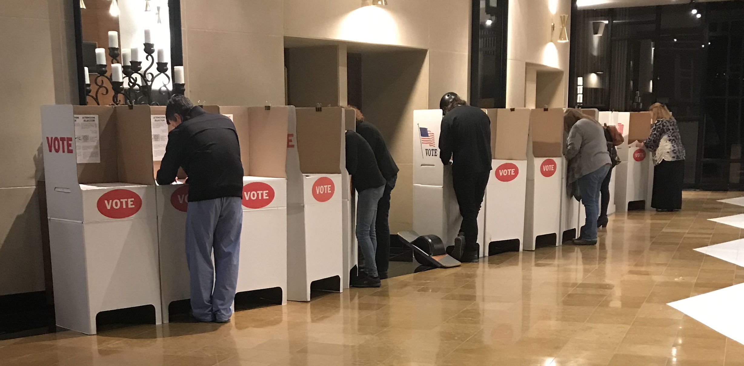 Long lines, COVID don't dissuade OCCC voters