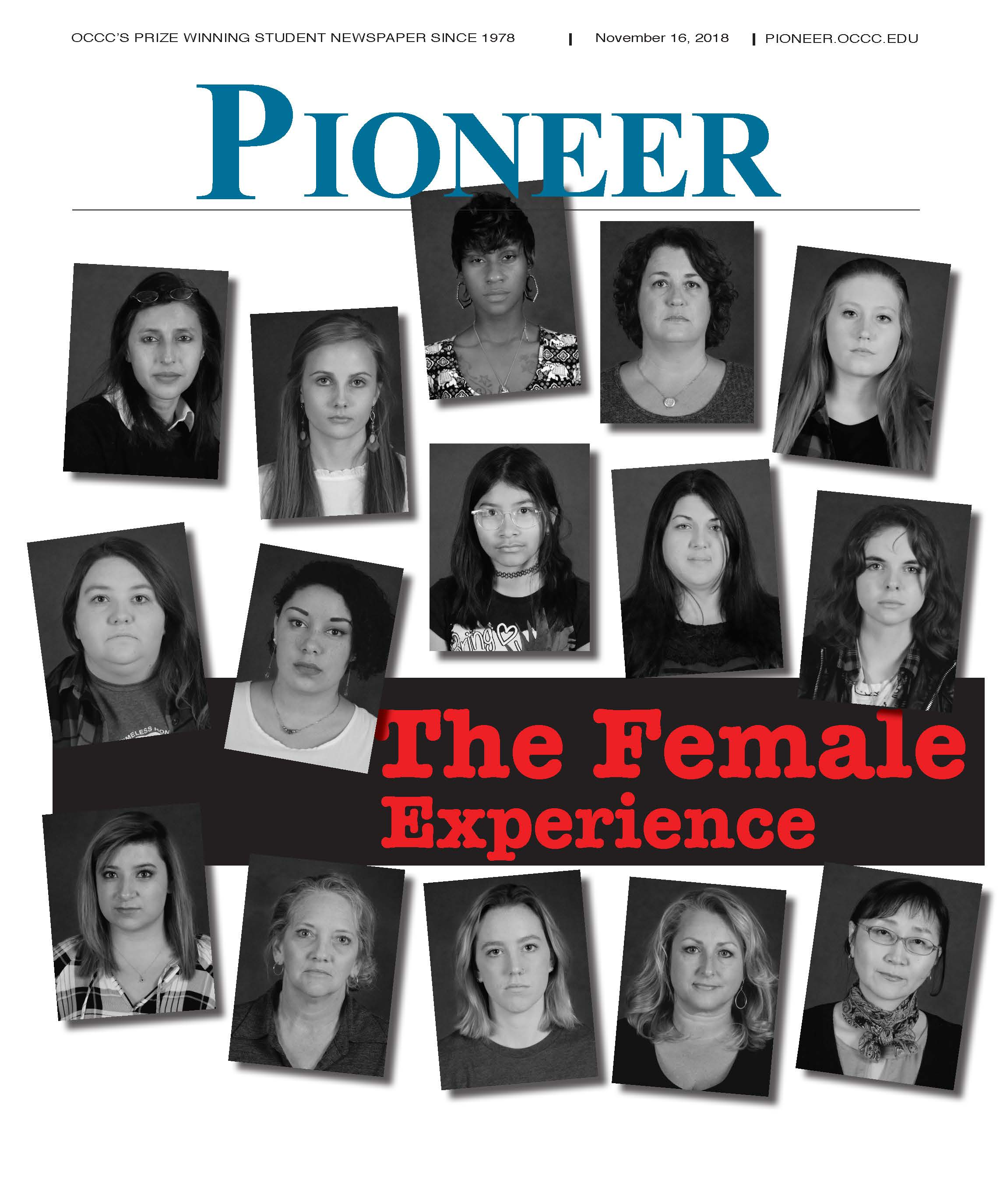 Pioneer Print Edition: The Female Experience