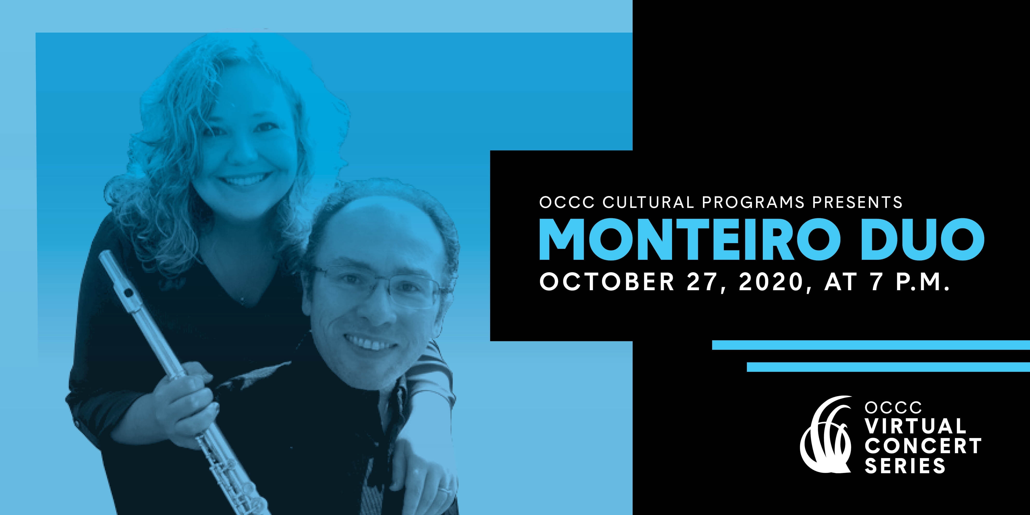 Free Monteiro Duo Concert tickets for students this week as part of Virtual Concert Series