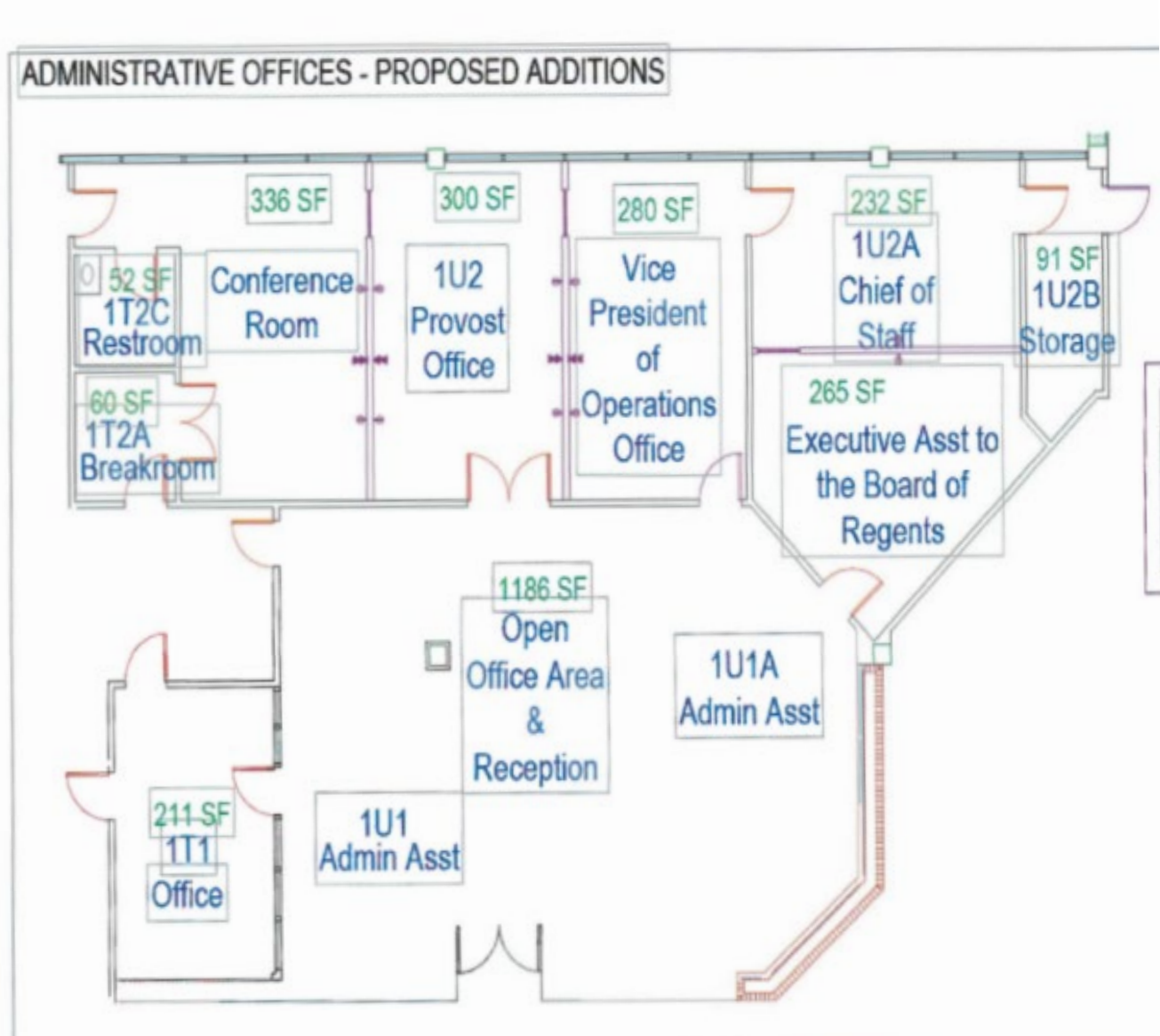 More remodeling coming for former president's office